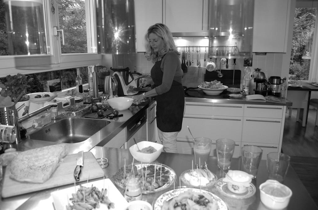 Meine Küche - oft im geordneten Chaos ;-)