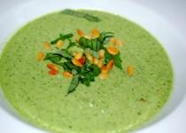 Grüne Gazpacho nach einem Rezept von Yotam Ottolenghi …