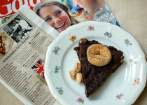 Schokoladen-Keks-Kuchen: Groom´s Cake