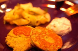 Zucchini - Ricotta Pan Cake