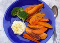Kürbis - Süßkartoffel als Ofengemüse