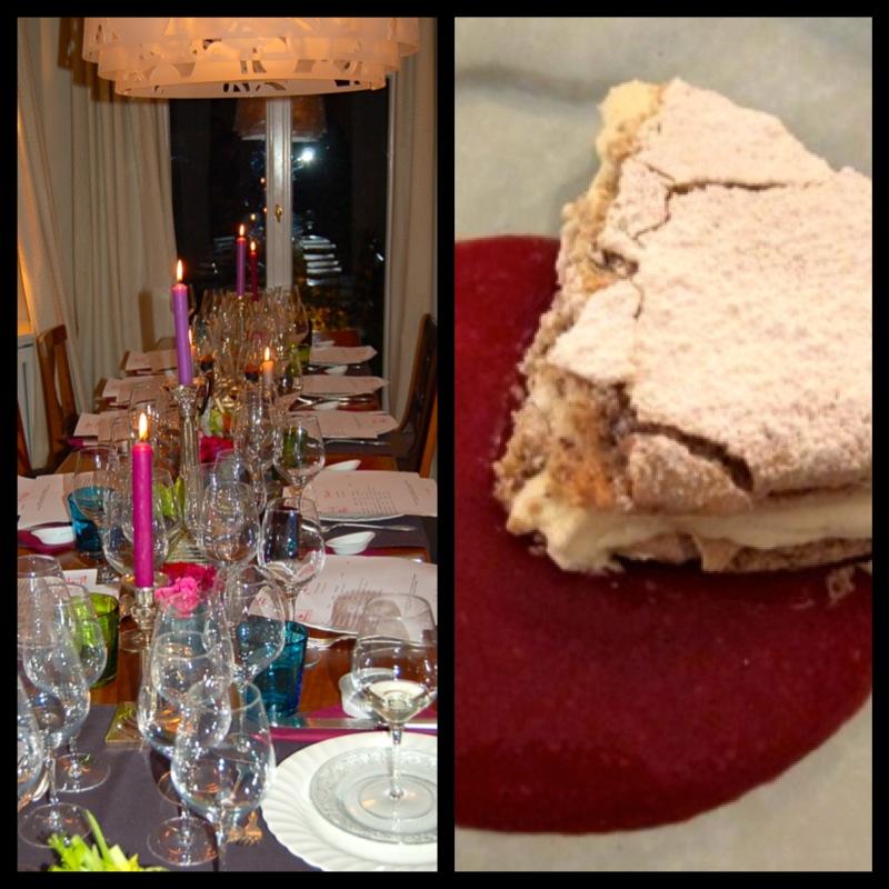 Haselnuss-Baiser-Torte
