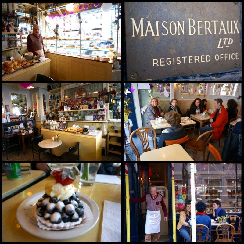 London Maison Bertaux