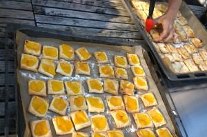 Mini-Galettes, Tartes, Kochenkunstundketchup