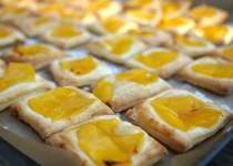 Tartes mit Apfel und Mango - Mini-Galettes