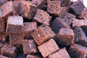 Brunch-Buffet. Brownies, Kochenkunstundketchup