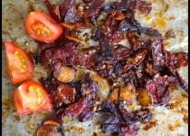 Tomaten eingemacht in Öl mit Thymian