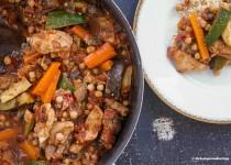 Couscous mit Lamm und Huhn