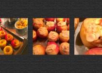 Käsekuchen im Apfel