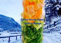 Grüner-Smoothie Winter Power mit Ingwer und Orange