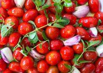 Tomaten aus dem Ofen italienischer Art