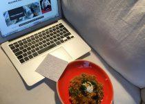 Rote Linsen Curry mit Joghurt