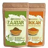 Zatar/Zaatar nach Ottoneghi & Dukkah Qualitätsware aus Palästina je 100 g - 100 % naturell