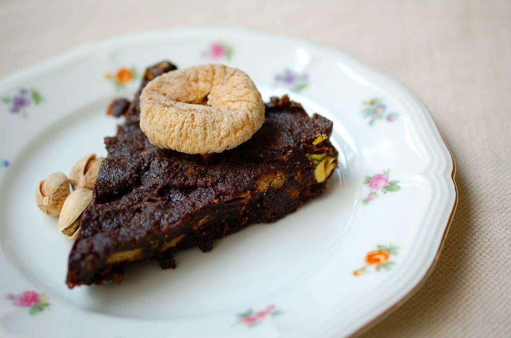 Schokoladen-Keks-Kuchen