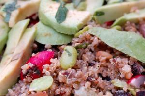Quinoa-Salat