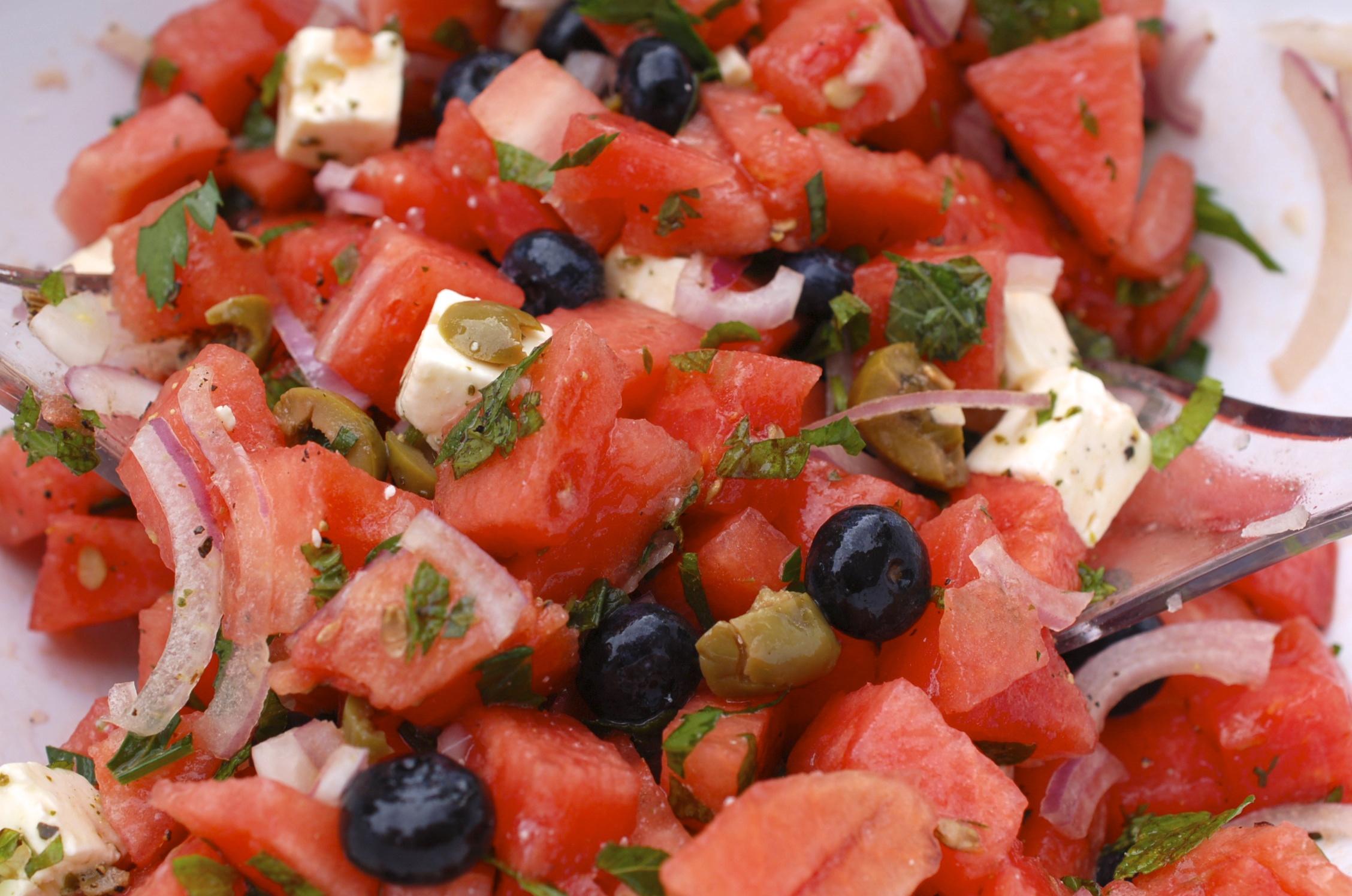 Salat ausgefallener Salate: die
