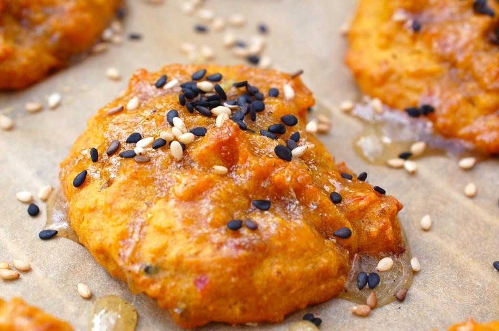 Kürbis Cookies Kardamon