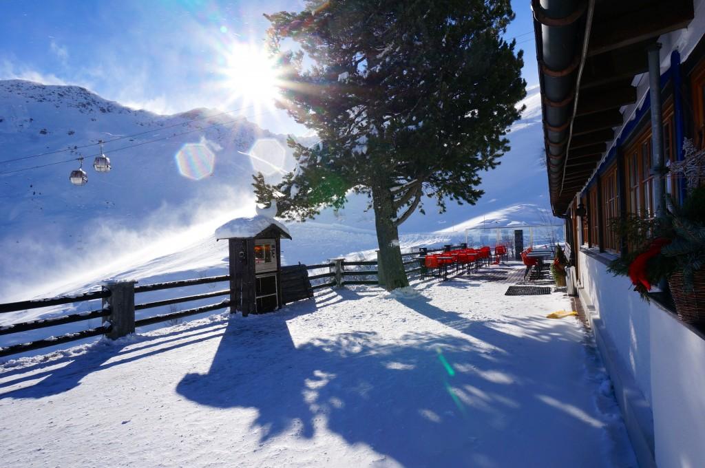 Alpenblick Wintersportort Arosa Graubünden Schweiz