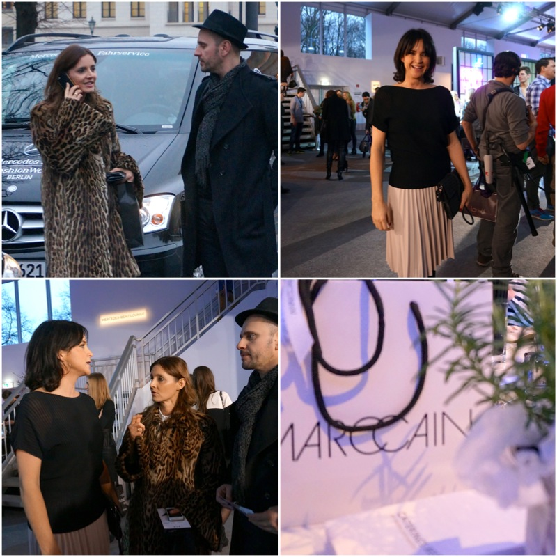 Isabell / Stylekompass, Nina/ Marccain, Arno / Booka Shade