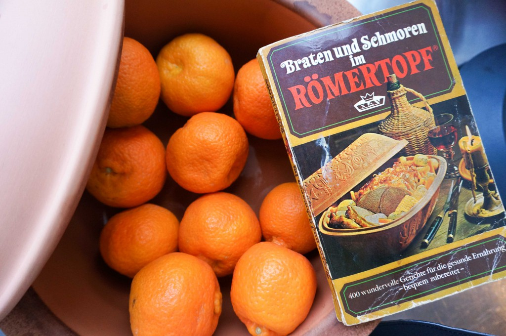 Marmelade aus dem Römertopf