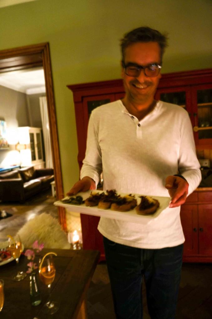 Baguette mit Seeteufel und sardischem Bottarga