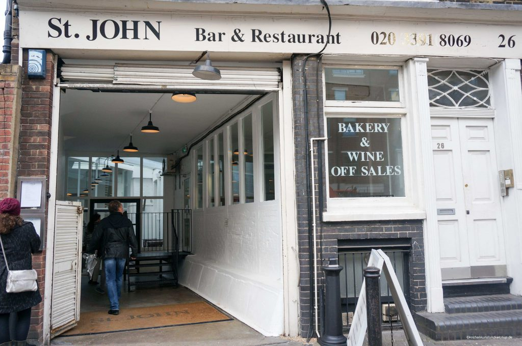 Restaurant St.John 26, London