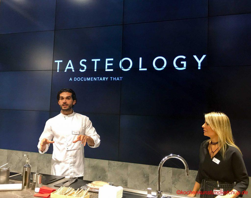 AEG Tasteology Eine Dokumentation über Geschmack
