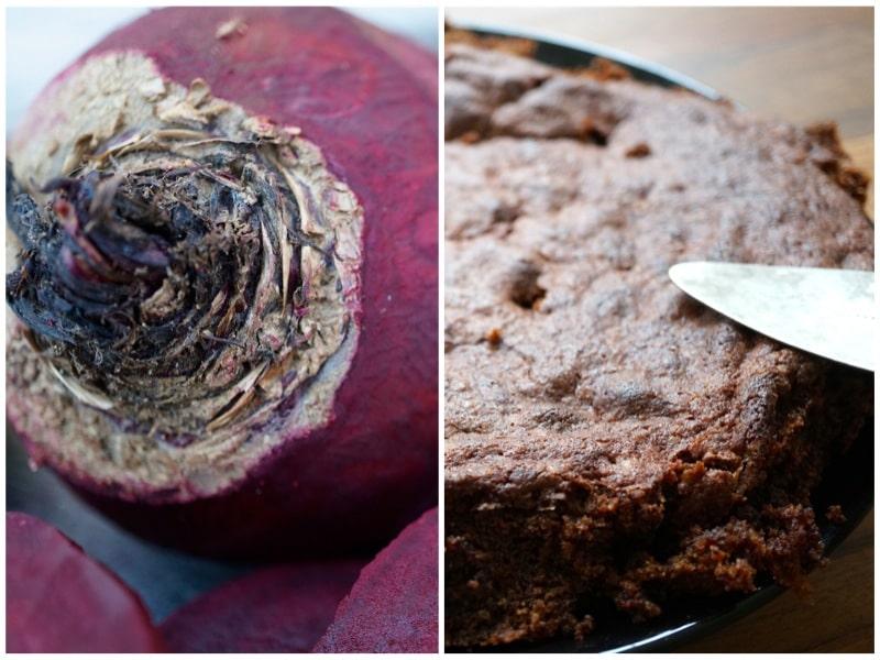 Schokoladenkuchen Mit Roter Bete Gebacken Ein Tolles Rezept