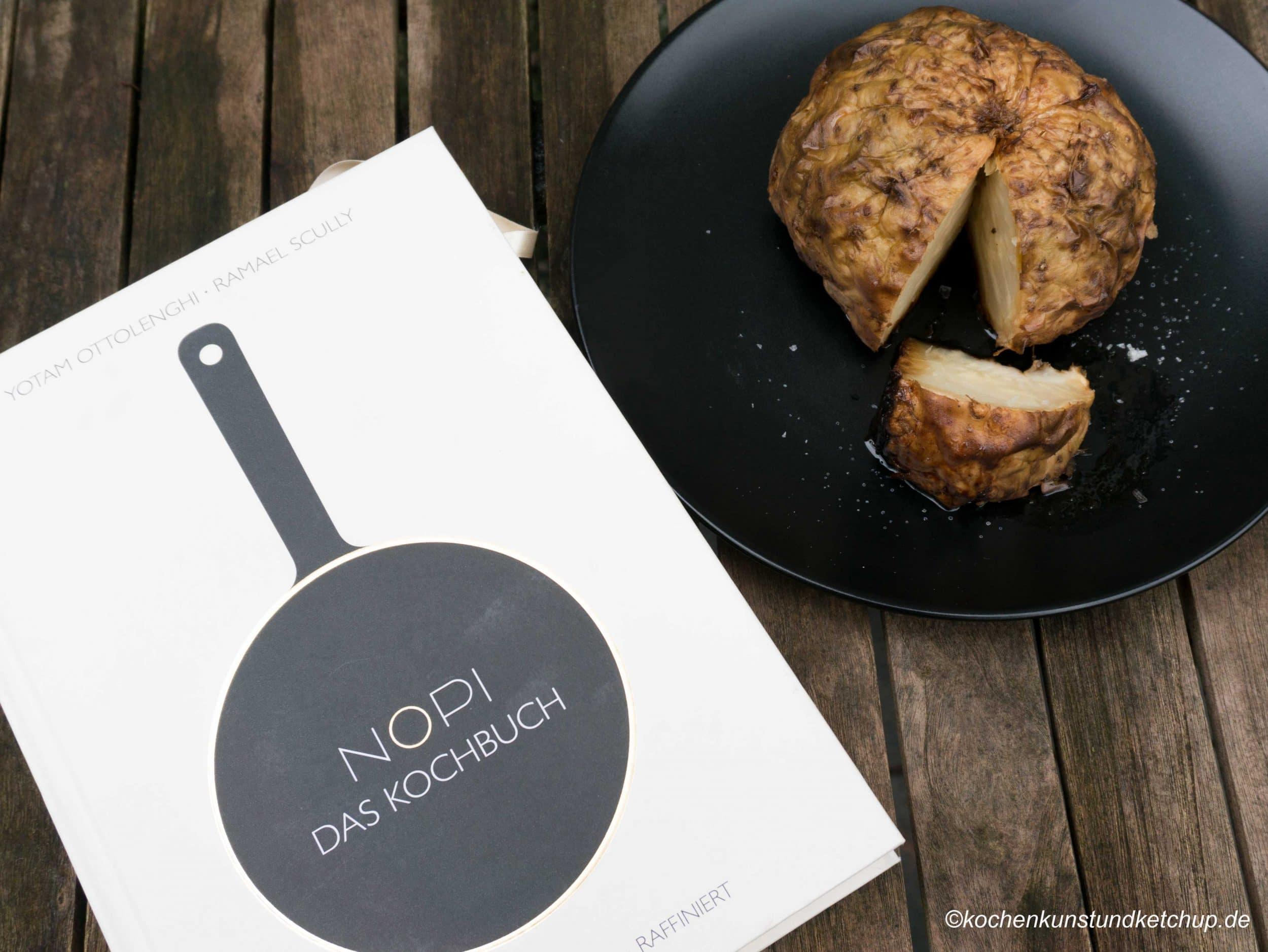 Sellerie im Ganzen im Ofen gebacken » ein besonderes Rezept!