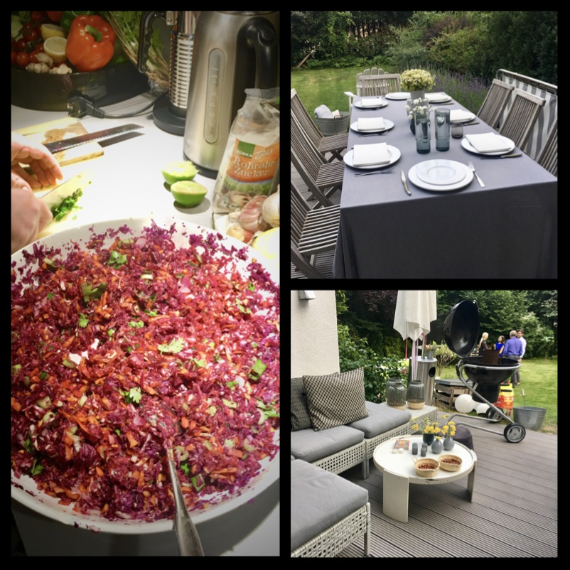 Krautsalat mit asiatischer Vinaigrette - köstlich zu Gegrilltem!