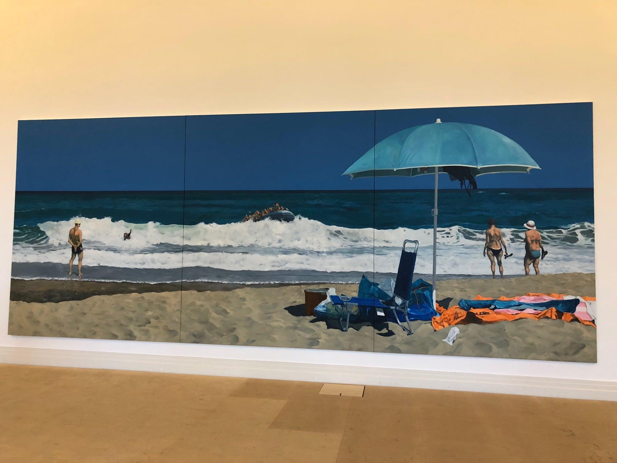 Michael Kvium - Strand der Fülle